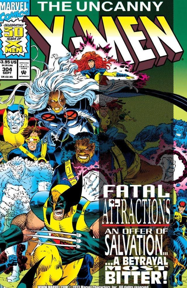 Uncanny X-Men (1963-2011) #304
