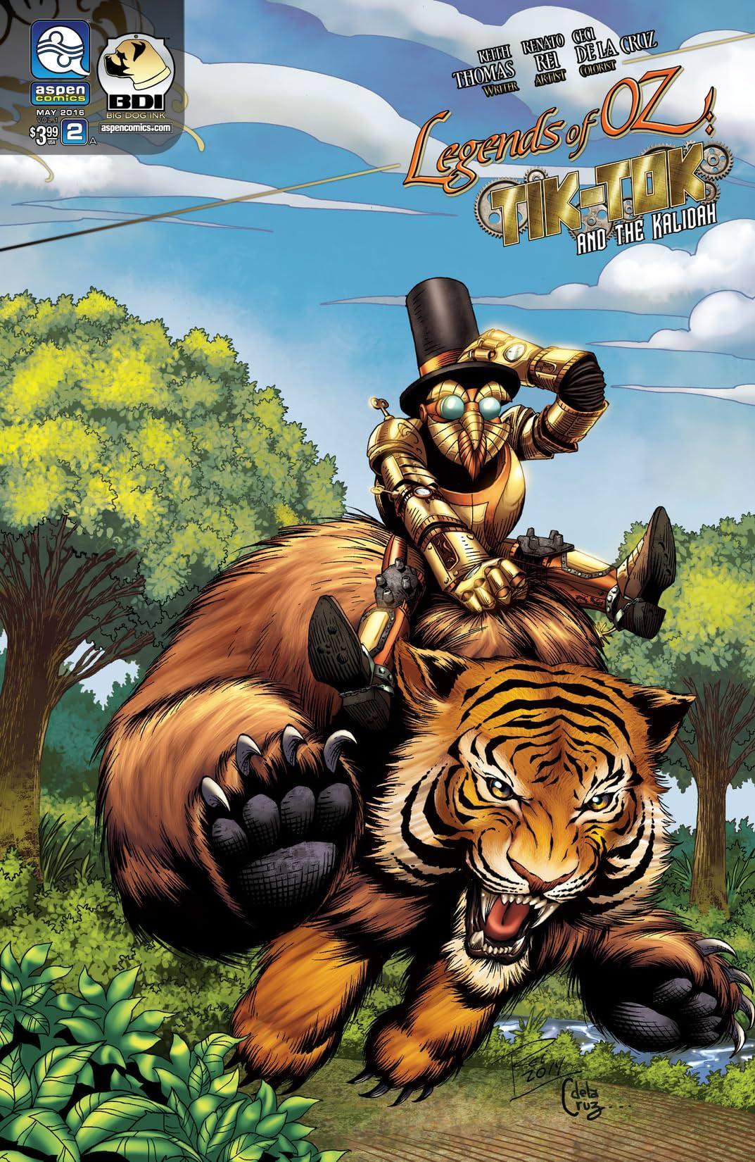 Legends of Oz: Tik-Tok and the Kalidah #2