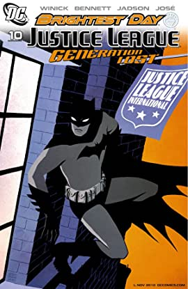 Justice League: Generation Lost #10