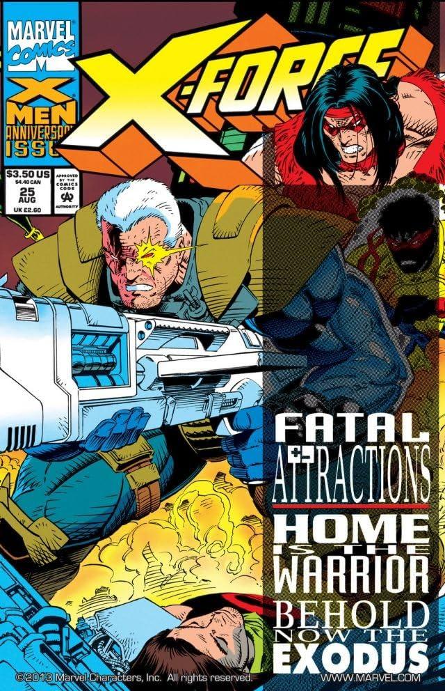 X-Force (1991-2004) #25