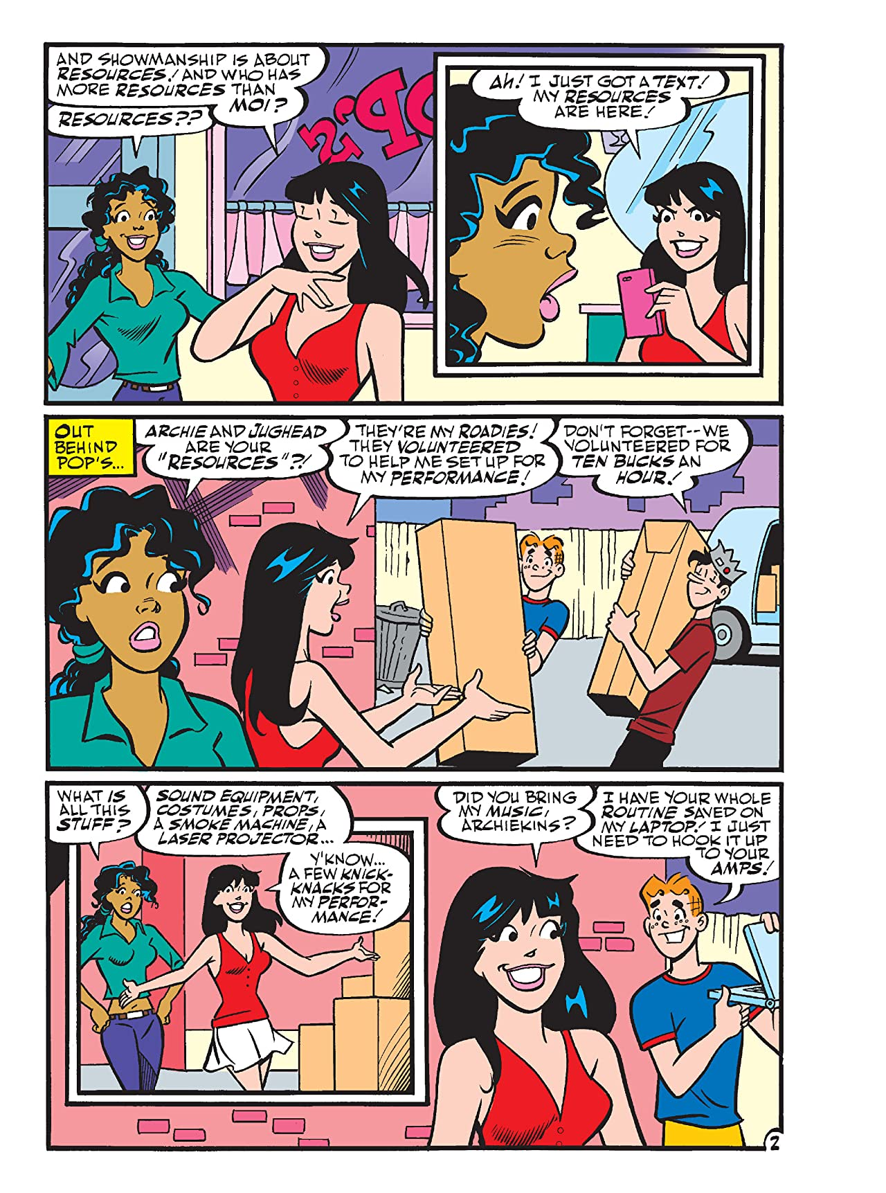 Betty & Veronica Comics Double Digest #246