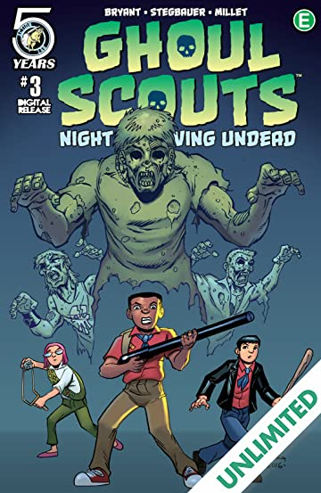 Ghoul Scouts: Night of the Unliving Undead #3