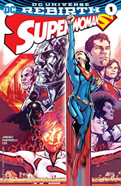 Superwoman (2016-2017) #1