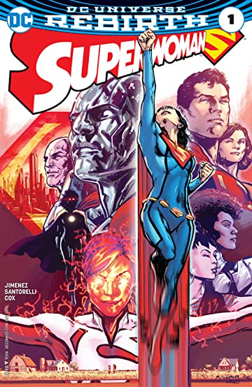Superwoman (2016-2017) #1
