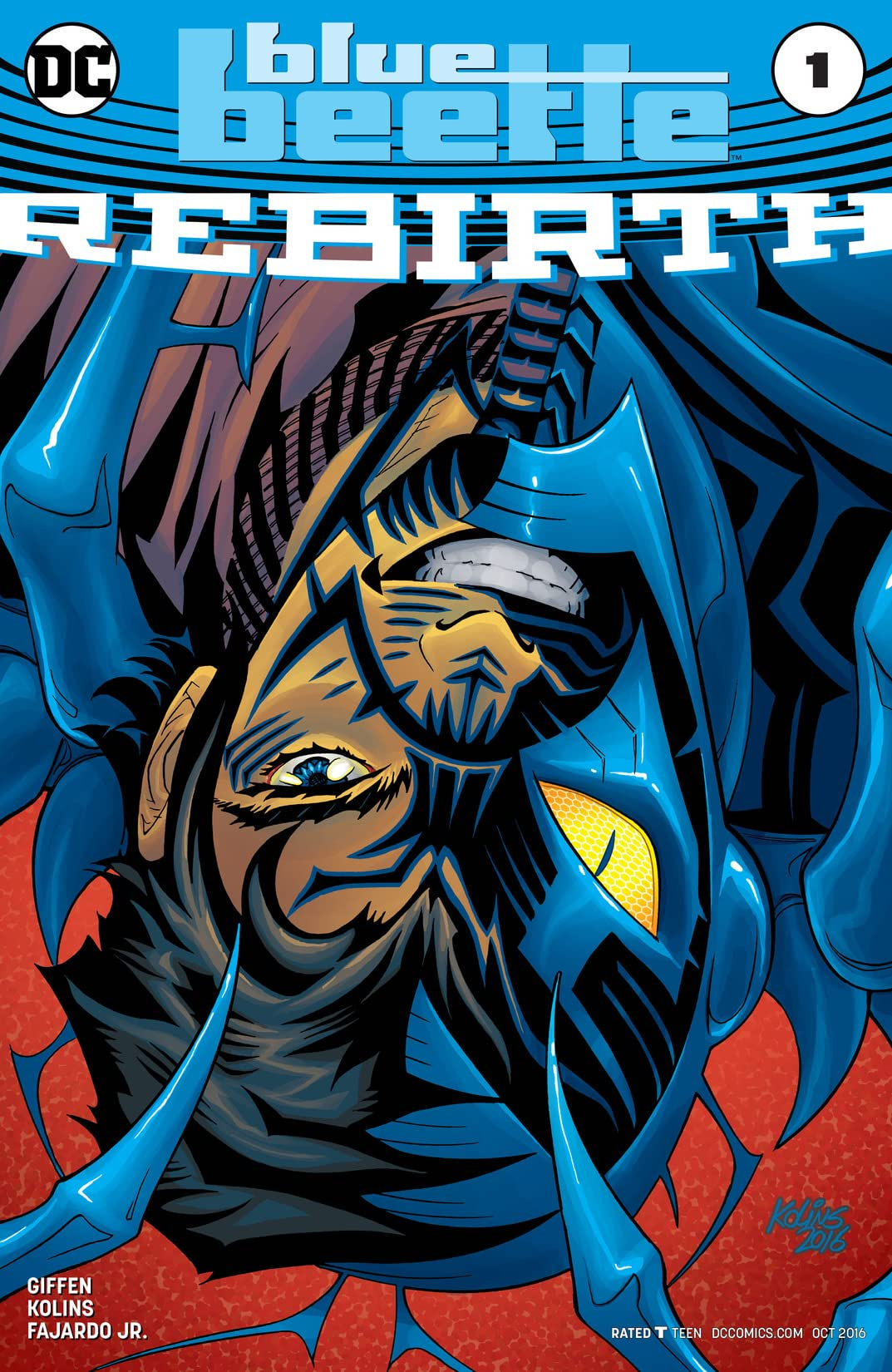 Blue Beetle: Rebirth (2016) No.1
