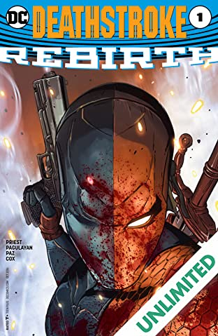 Deathstroke: Rebirth (2016) #1