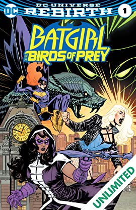 Batgirl and the Birds of Prey (2016-2018) #1