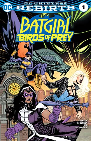Batgirl and the Birds of Prey (2016-2018) No.1