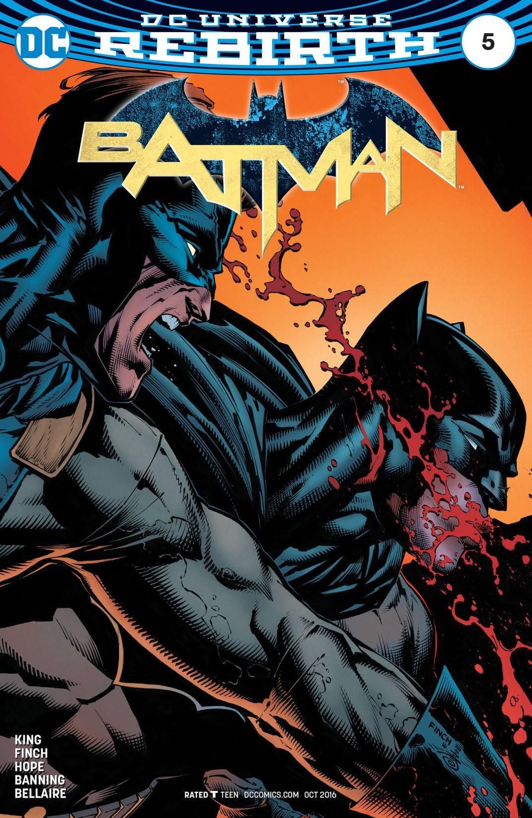 Batman (2016-) #5