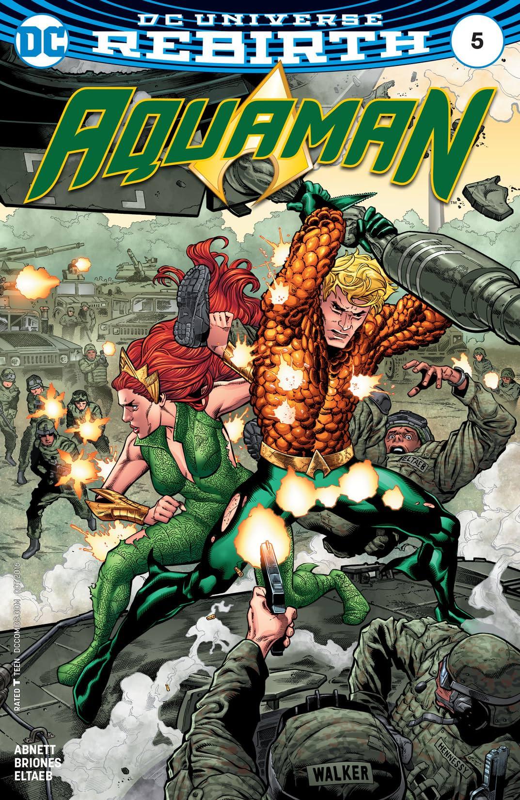 Aquaman (2016-) #5