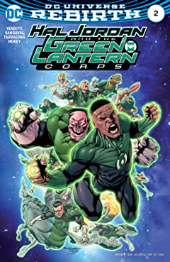 Hal Jordan and the Green Lantern Corps (2016-2018) No.2