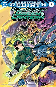 Hal Jordan and the Green Lantern Corps (2016-2018) No.3