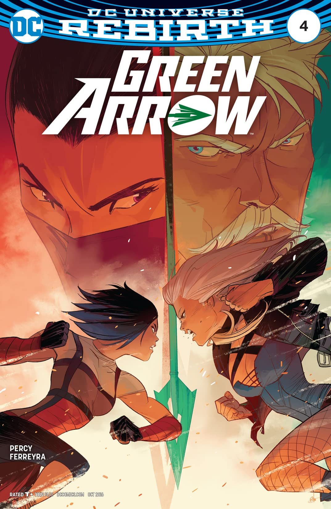 Green Arrow (2016-2019) #4