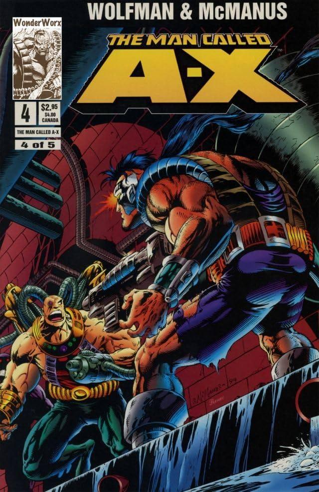 The Man Called A-X #4