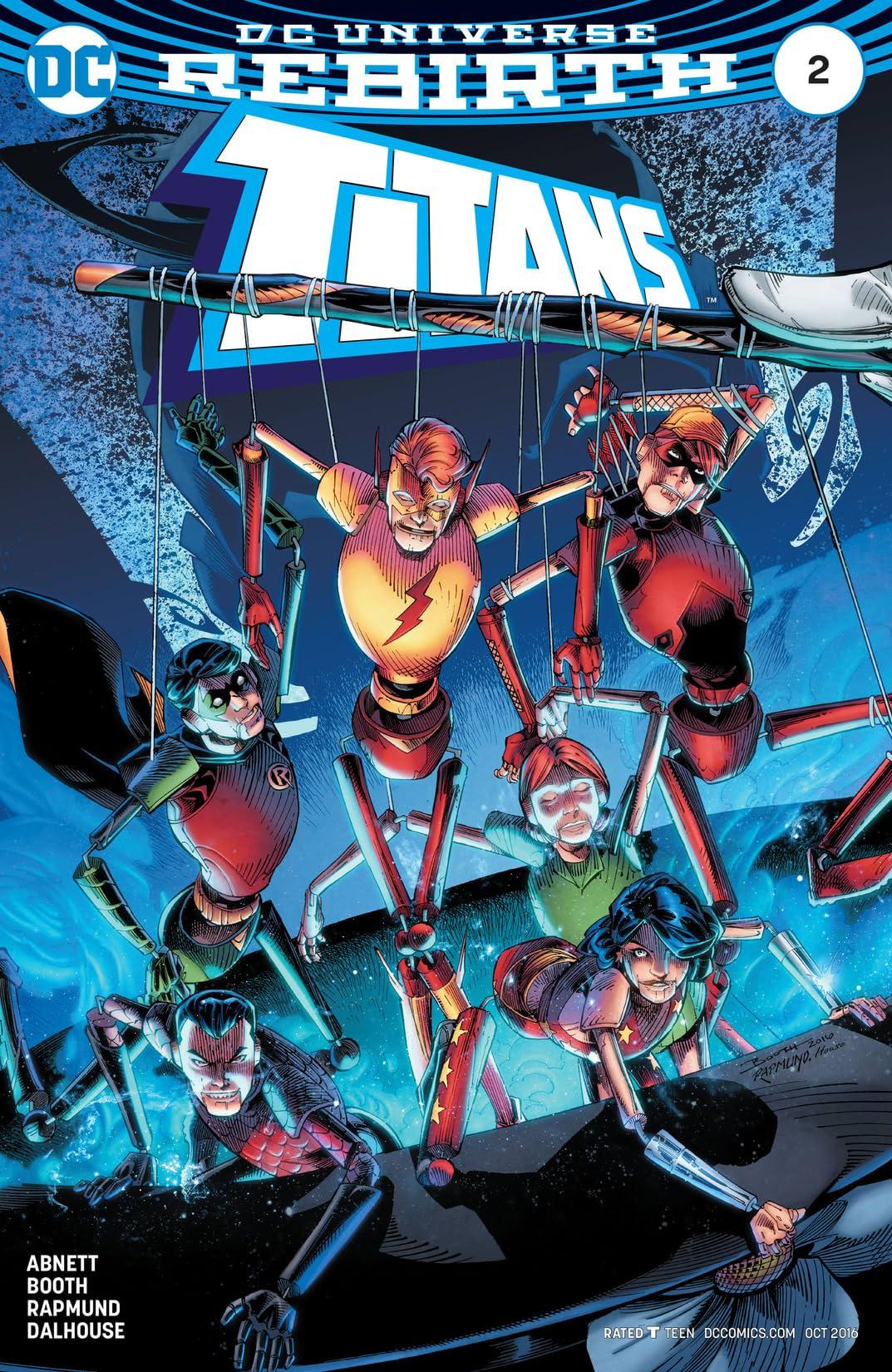 Titans (2016-) No.2