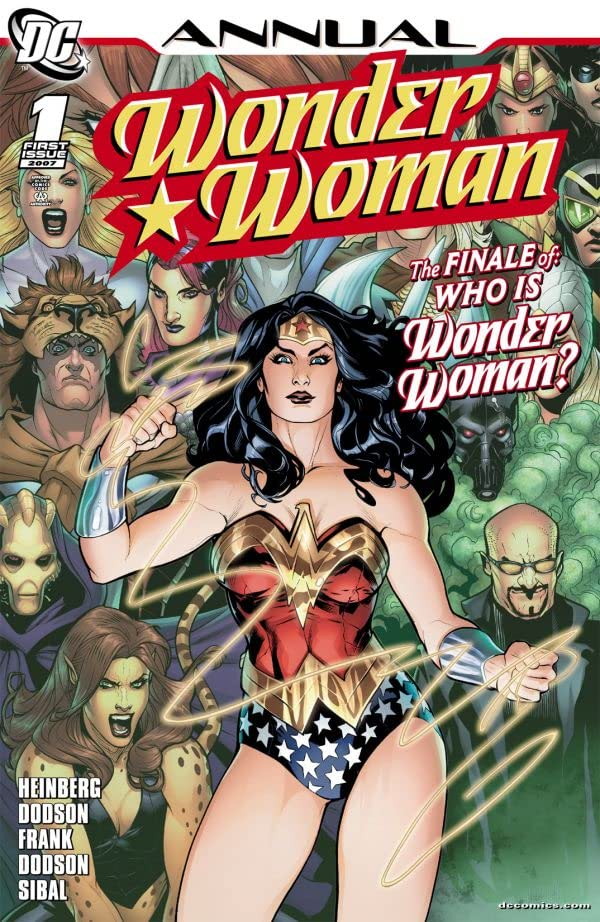 Wonder Woman (2006-2011): Annual #1