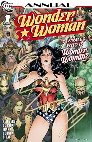 Wonder Woman (2006-2011) #1: Annual
