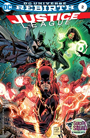 Justice League (2016-2018) No.2