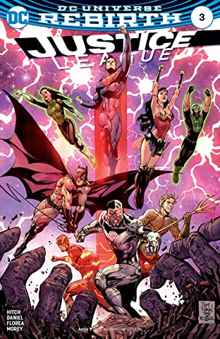 Justice League (2016-2018) No.3