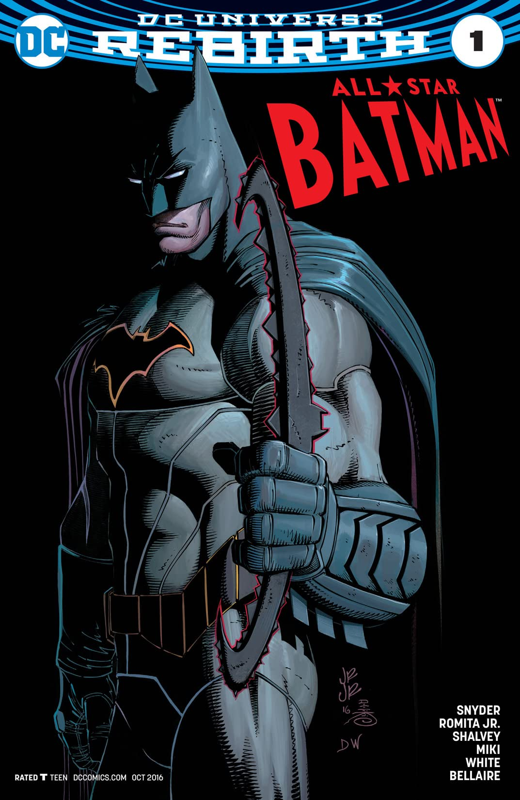 All-Star Batman (2016-) #1