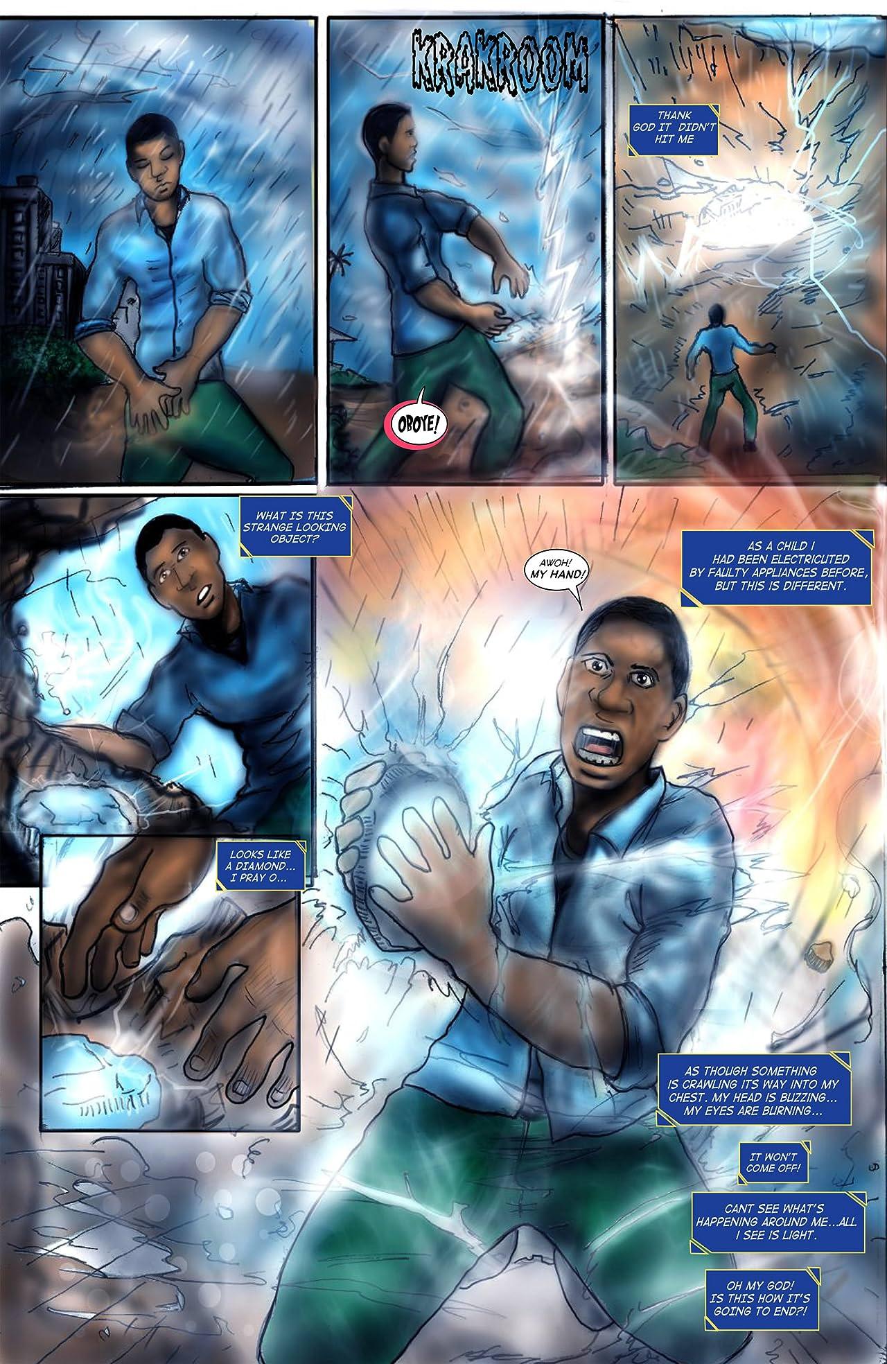 Shadow Justice #1