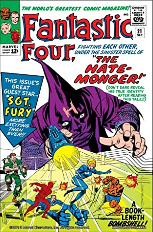 Fantastic Four (1961-1998) No.21