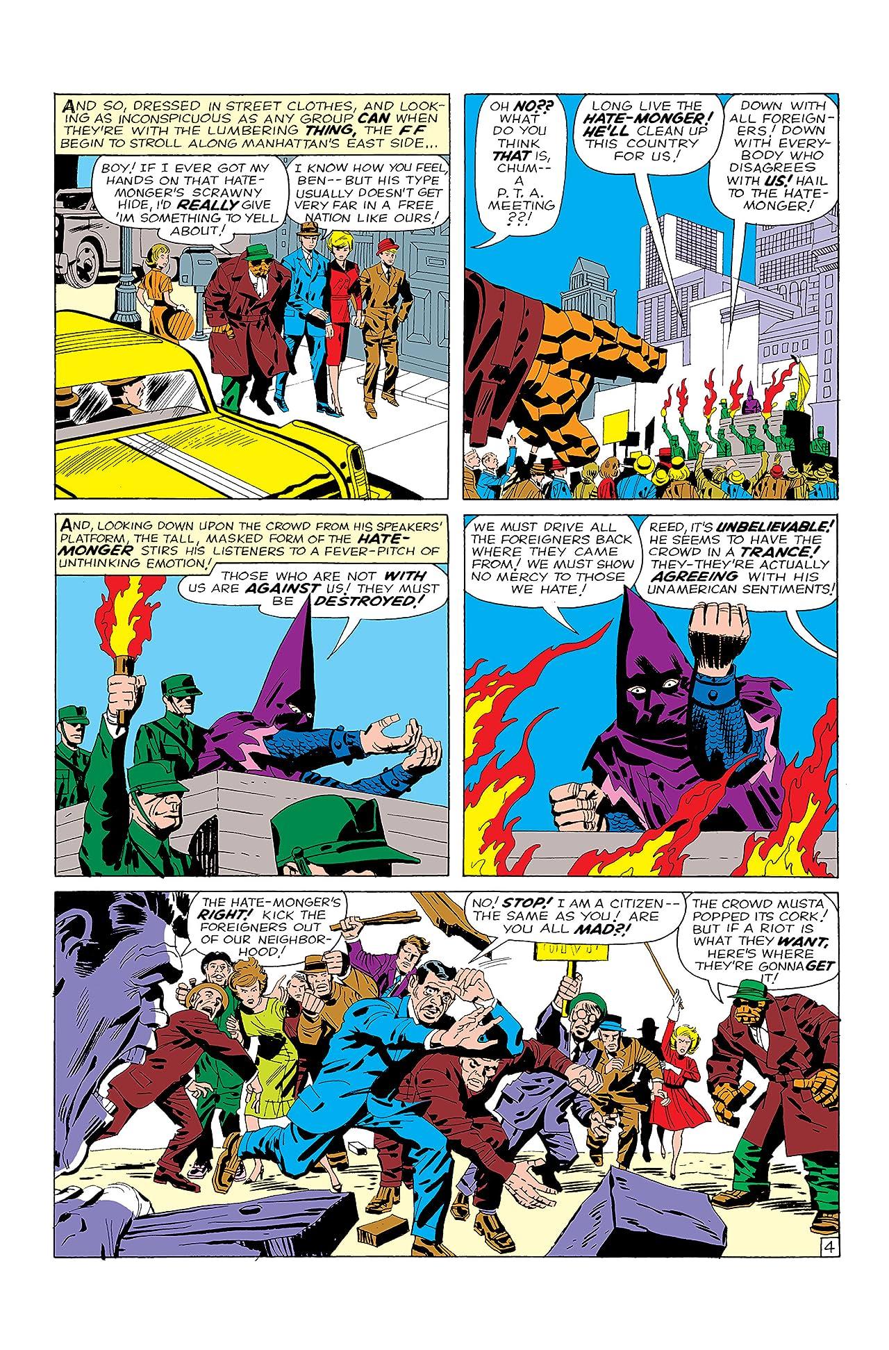Fantastic Four (1961-1998) #21