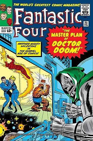 Fantastic Four (1961-1998) #23