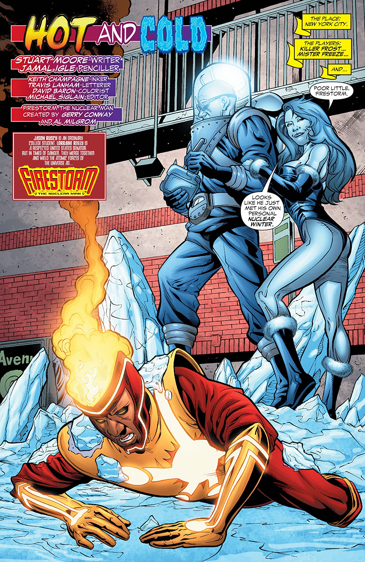 Firestorm: The Nuclear Man (2004-2007) #25
