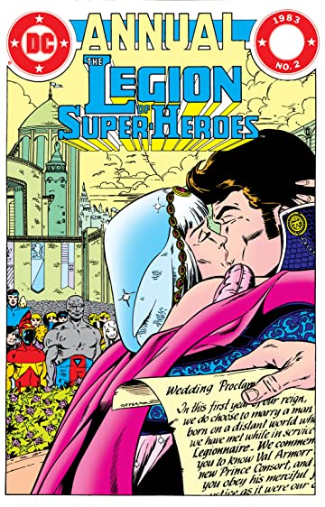 The Legion of Super-Heroes (1980-1985): Annual #2