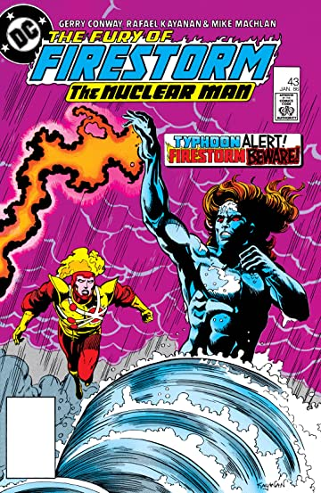 The Fury of Firestorm (1982-1990) #43