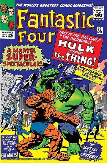 Fantastic Four (1961-1998) #25