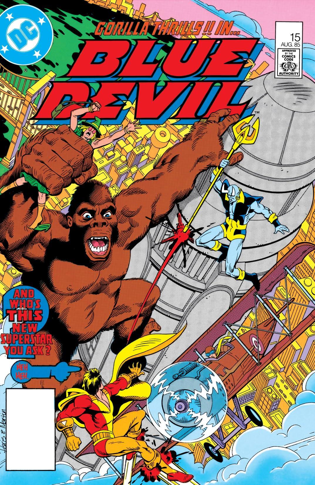Blue Devil (1984-1986) #15