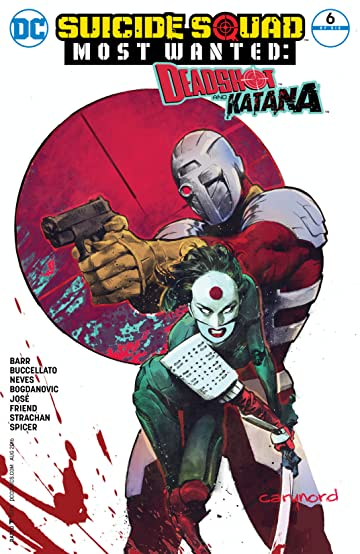 Suicide Squad Most Wanted: Deadshot and Katana (2016) #6