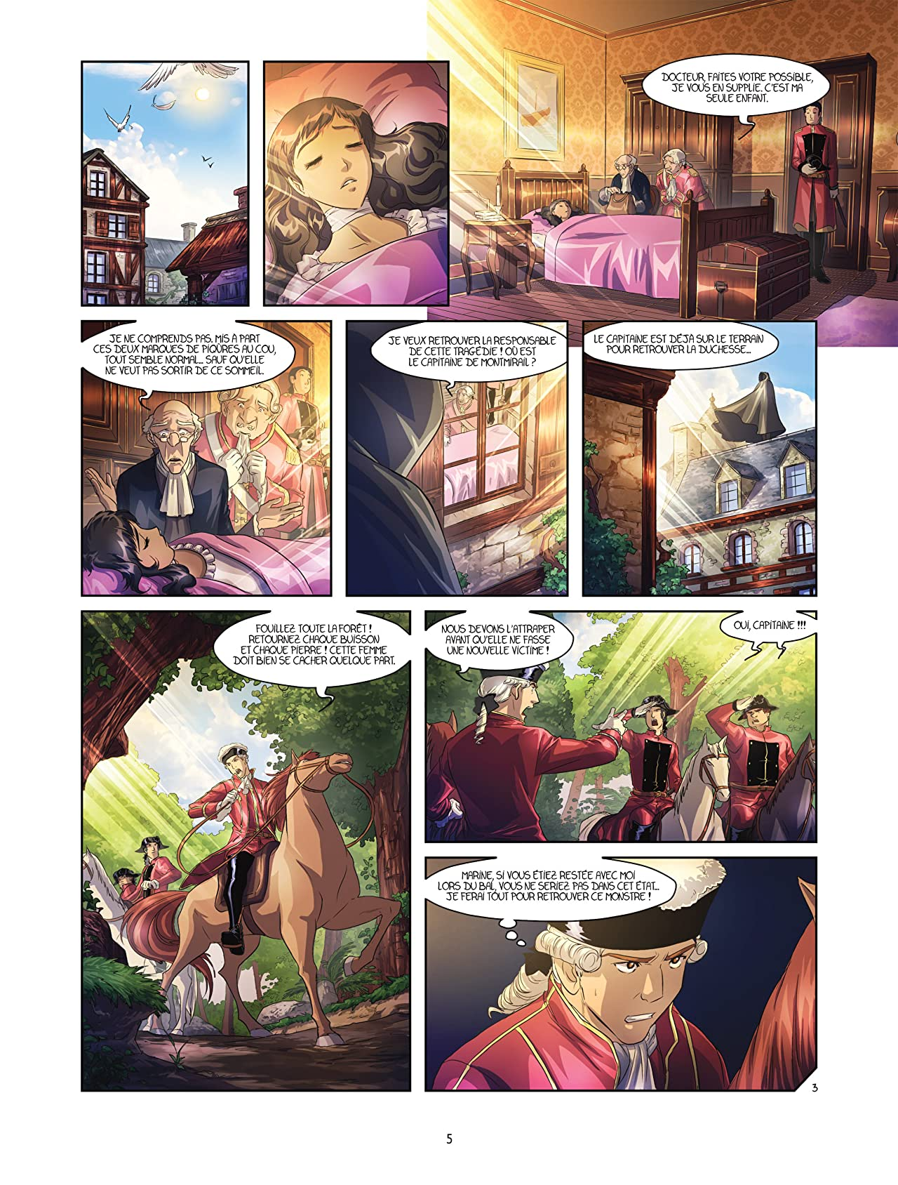 La rose écarlate - Missions Vol. 4: La Dame en rouge 2/2