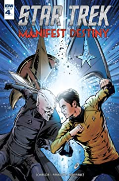 Star Trek: Manifest Destiny No.4 (sur 4)