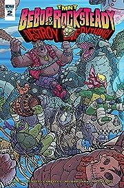 Teenage Mutant Ninja Turtles: Bebop & Rocksteady Destroy Everything #2
