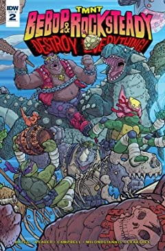 Teenage Mutant Ninja Turtles: Bebop & Rocksteady Destroy Everything #2
