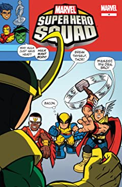 Marvel Super Hero Squad #4 (of 4)