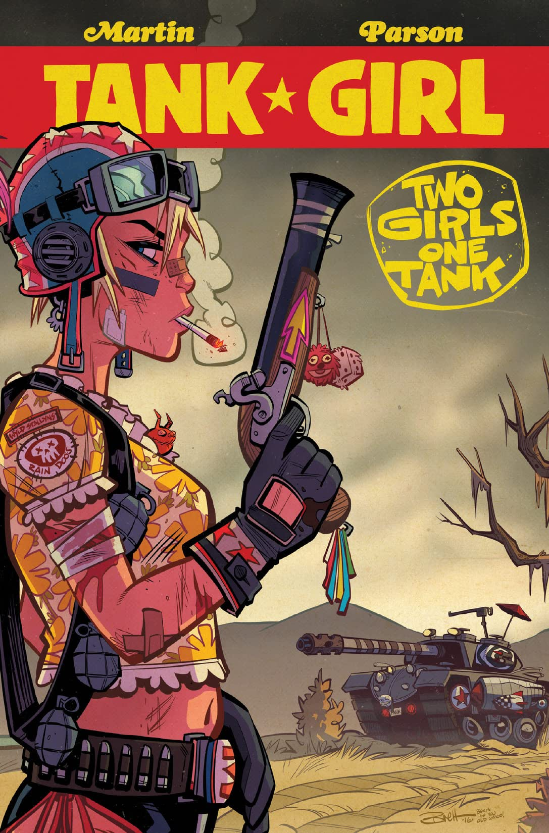 Tank Girl: Two Girls One Tank #4