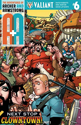 A&A: The Adventures of Archer & Armstrong No.6: Digital Exclusives Edition