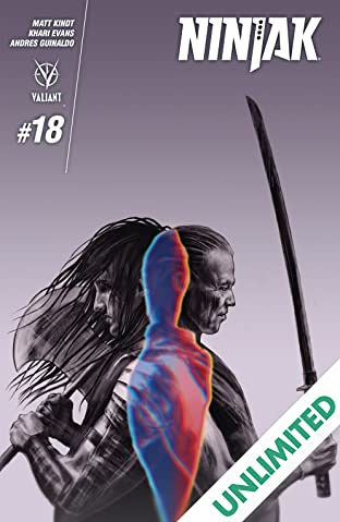 Ninjak (2015- ) #18: Digital Exclusives Edition