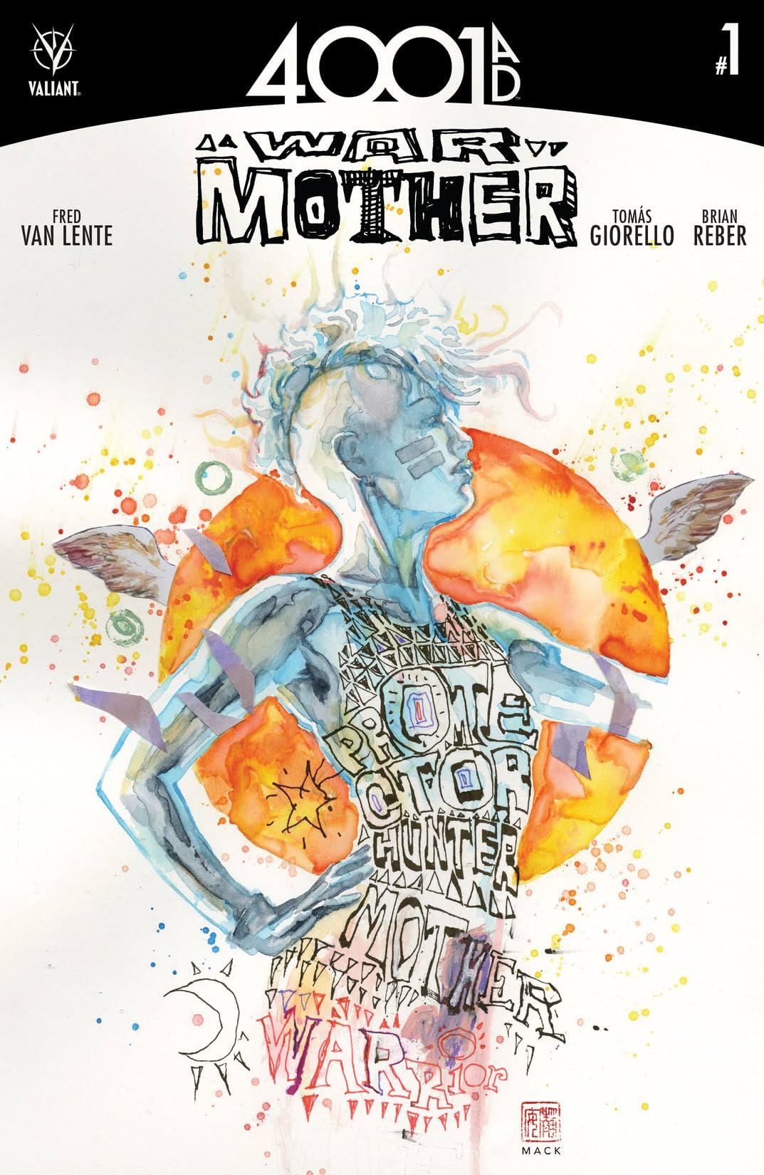 4001 A.D.: War Mother #1