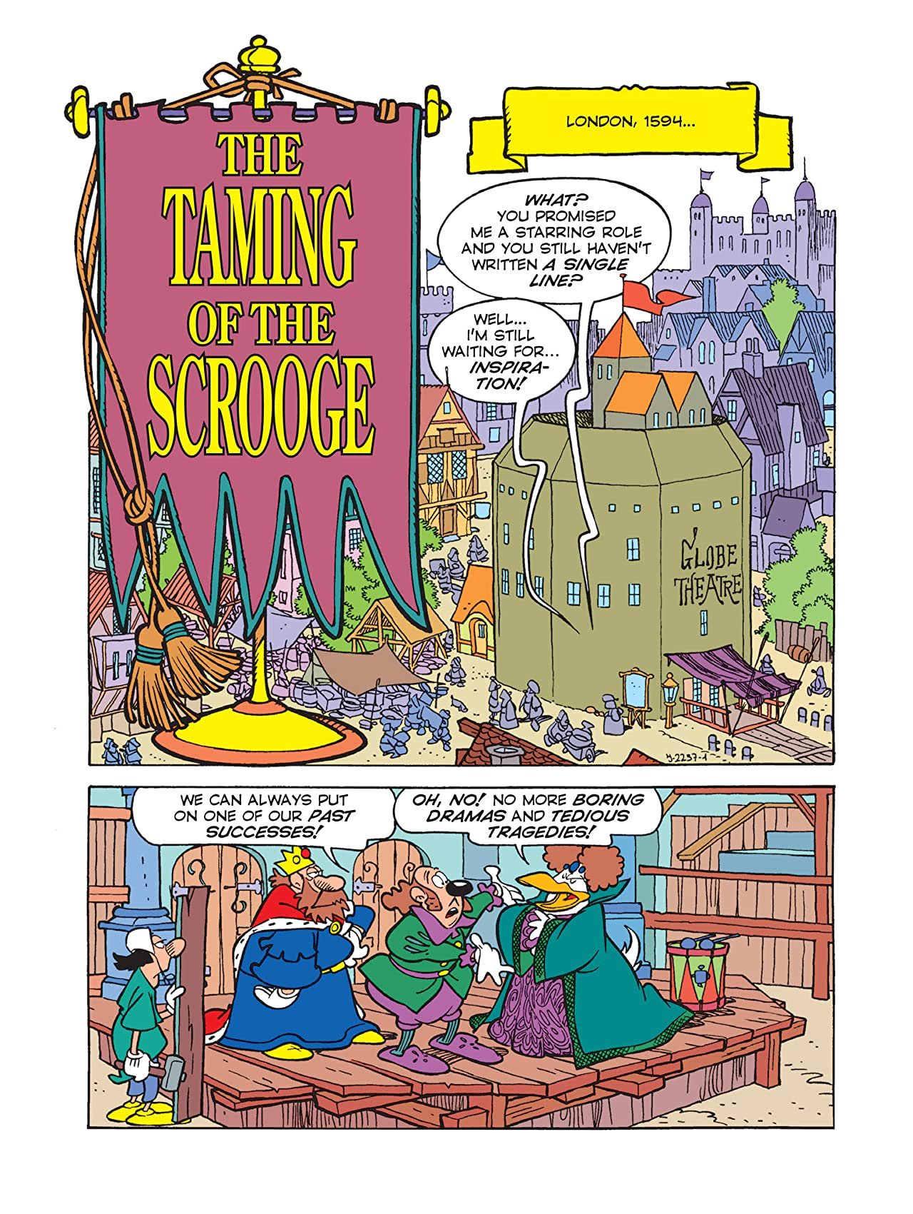 The Taming of the Scrooge