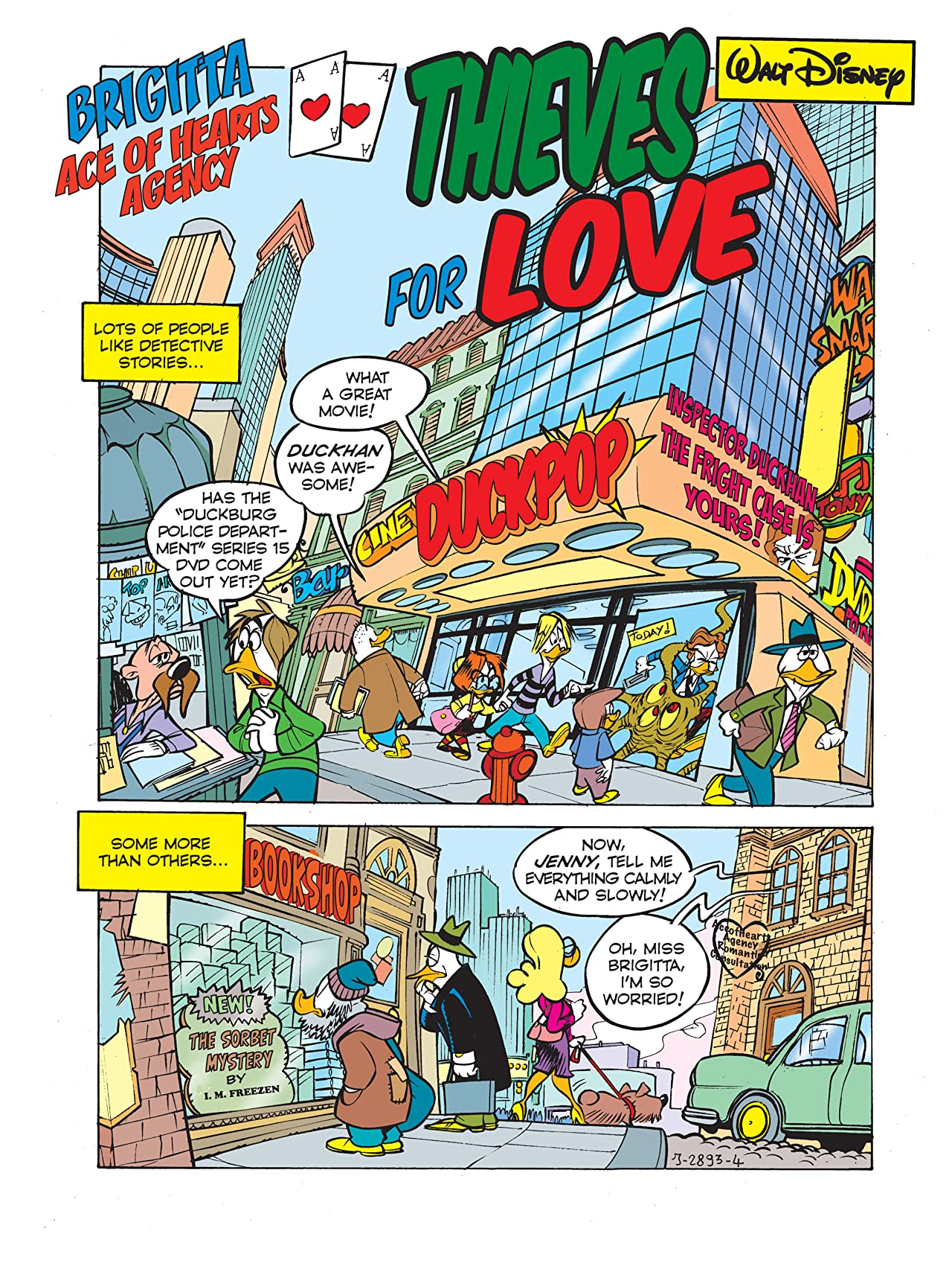 Scrooge McDuck in Thieves for Love