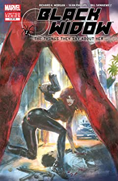 Black Widow: The Things They Say About Her (2005-2006) #1 (of 6)