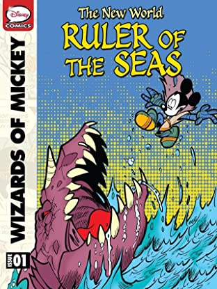 Wizards of Mickey: The New World #1: Ruler of the Seas
