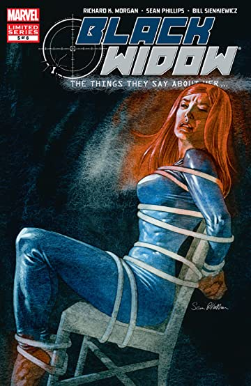 Black Widow: The Things They Say About Her (2005-2006) #5 (of 6)