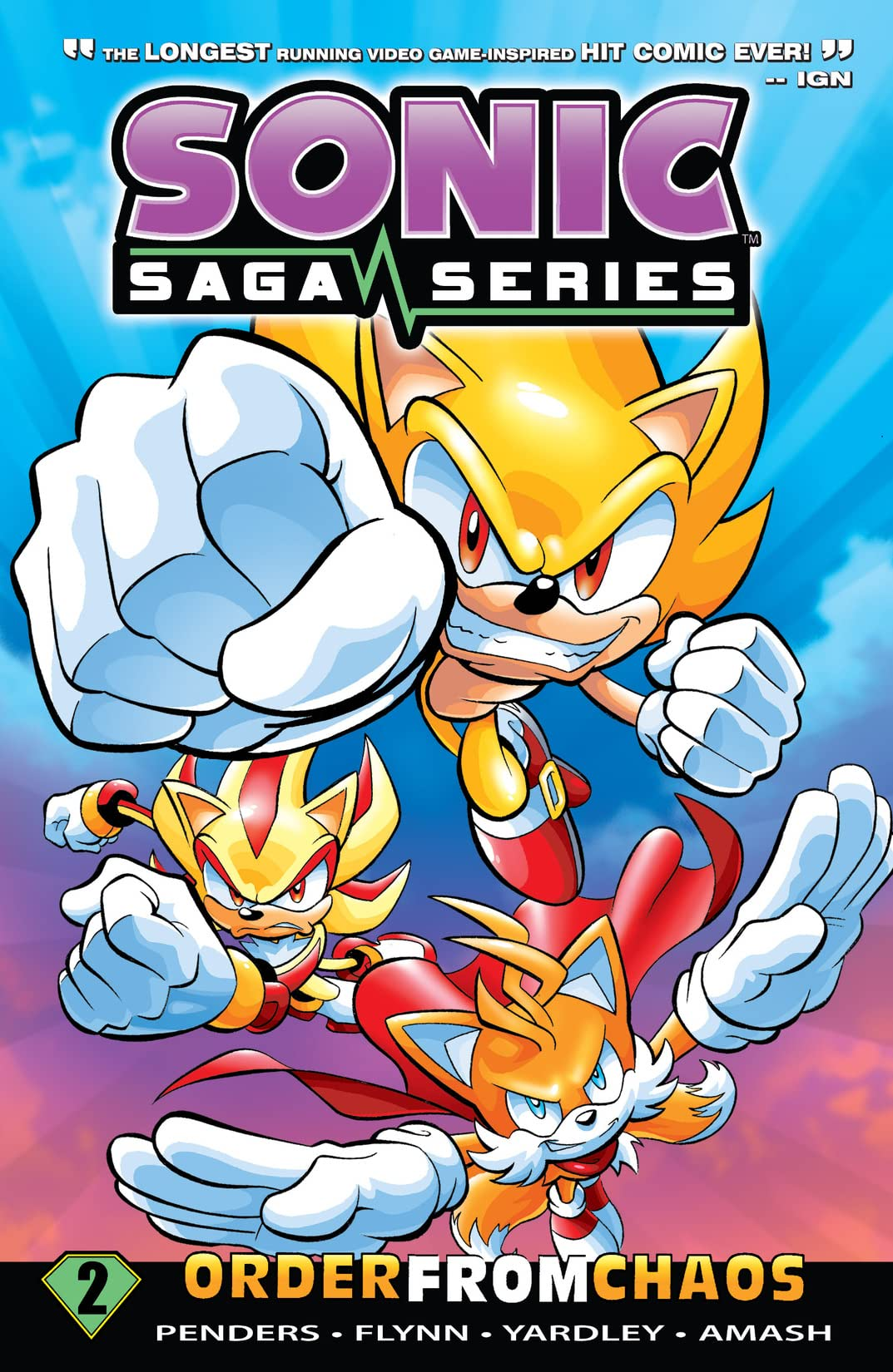 Sonic Saga Series Vol. 2: Order From Chaos