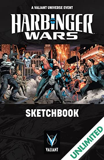 Harbinger Wars: Sketchbook
